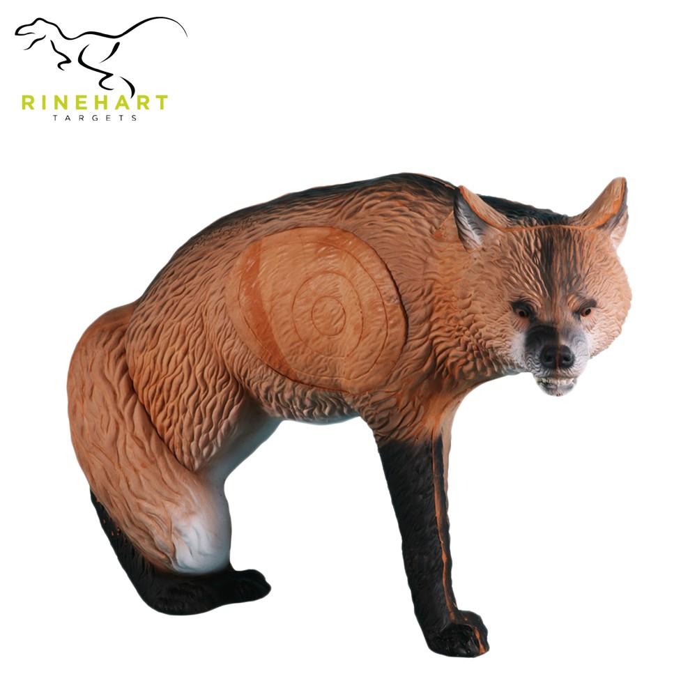 3D terčovnice liška