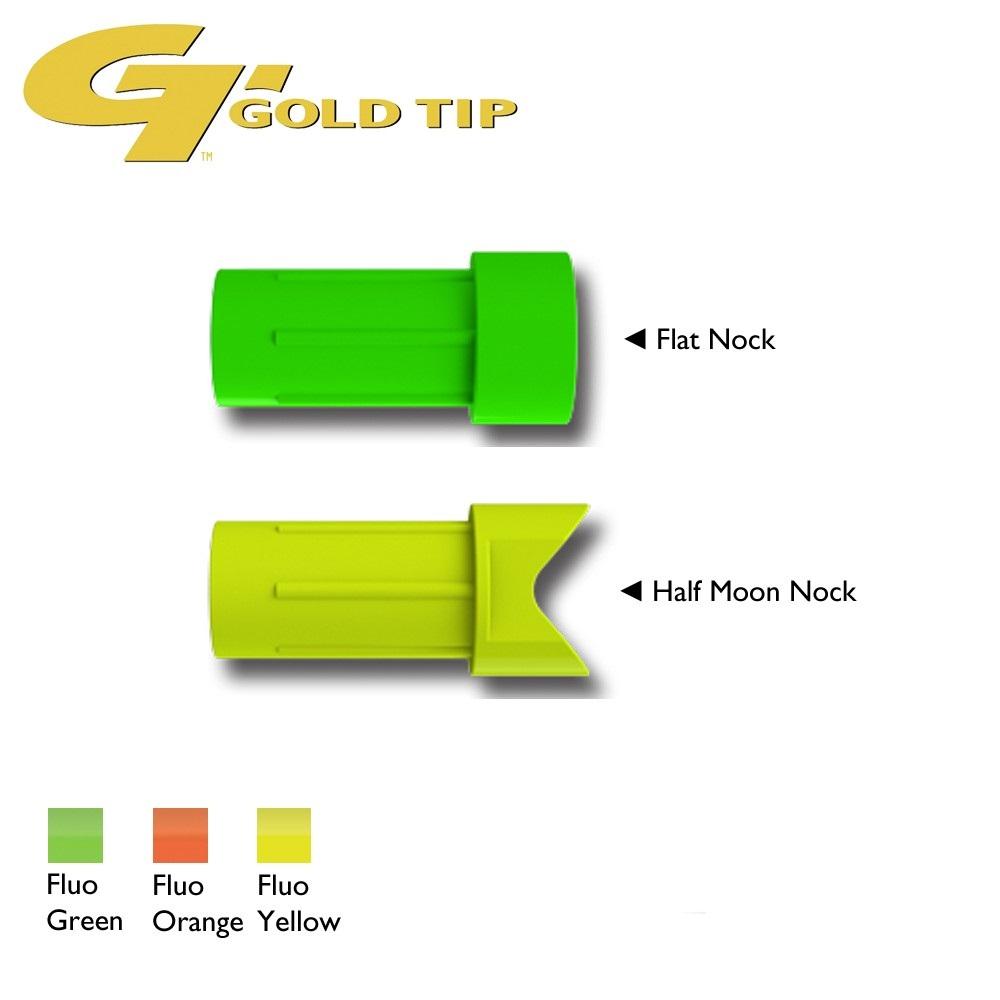 Nocke I Laser II+III: Flat Nock Flo Orange